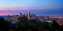 Seattle skyline at sunrise by northwest-scenescapes