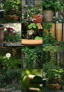 Gartencollage von Andrea Meister