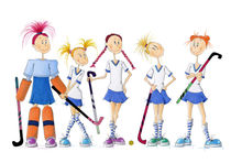 Hockey-femininas by Monika Blank-Terporten