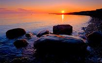 Rocky Sunset von Keld Bach