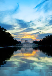 The Lincoln Memorial, Washington DC by Ken Howard