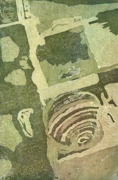 Muschel-in-abstraktion