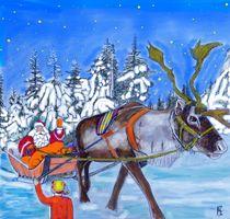 Joulupukki in Finnland von Heidi Schmitt-Lermann