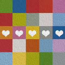 squares and hearts by thomasdesign