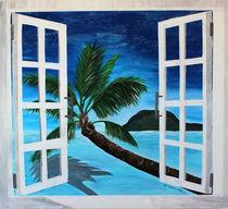 Fenster zum Paradies von M.  Bleichner