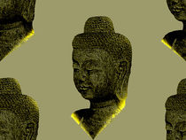 Glowing Buddha von tiaeitsch