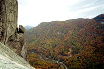 Devil's Head of Chimney Rock by skyler