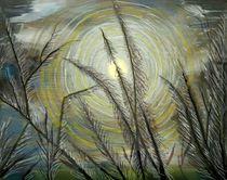 Irisierender Mond von Heidi Schmitt-Lermann