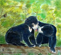 Malaienbärenkinder by Heidi Schmitt-Lermann