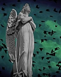 Angel of Stone  by David Dehner