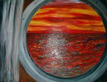 .....und der Himmel küßt das Meer von Bärbel Knees