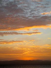 after sunset in Paracas Peru  von picadoro