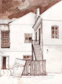 Before a thunderstorm. von Tatiana Popovichenko