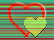 Hearts and Stripes von Christine Bässler
