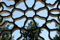 LATTICE WINDOW Vancouver Chinatown von John Mitchell