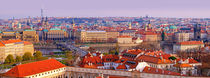 Panoramic Postcard from Prague von Keld Bach