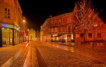 Deserted Street by Keld Bach