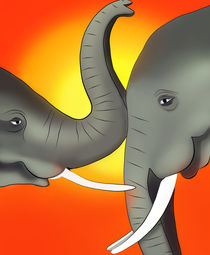 Elefantenbabys by Ingrid Clement-Grimmer