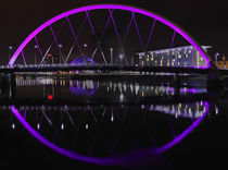 Glasgow - Clyde Arc by Gillian Sweeney