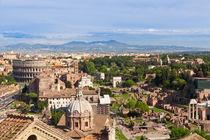 Rome skyline. by Irina Moskalev
