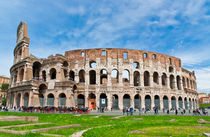 The Colosseum in Rome, Italy von Irina Moskalev