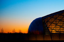 Science Centre Glasgow - sunset by Gillian Sweeney