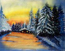 Winterwaldhütte von Heidi Schmitt-Lermann