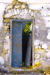Cretan door no3 von Pia Schneider