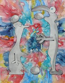 Kreis des Lebens 1 by Anke Wetter