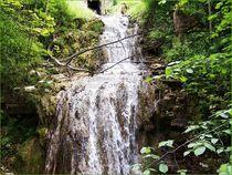 Wasserfall  von laubfrosch