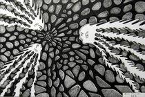 COSMIC REENDEZVOUS - DAVE EDWARDS - INK - 2012 von Dave  Edwards