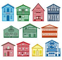Happy houses von Héctor Castañón Guaza