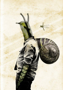 Snail Man by Héctor Castañón Guaza