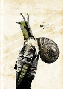 Snail Man von Héctor Castañón Guaza