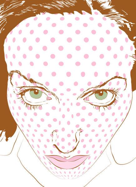 Pop-art-face