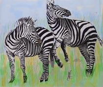 Zebra by Heidi Schmitt-Lermann