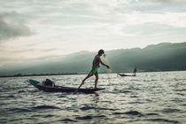 Fishermen of Inle Lake by Thomas Cristofoletti