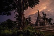 Little Bagan at sunset von Thomas Cristofoletti