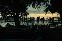 U-Bein Bridge in Mandalay by Thomas Cristofoletti
