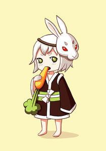 Bunny Mask von freeminds