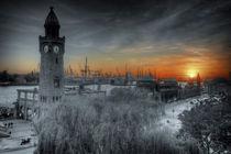 Landungsbrücken sunset II by photoart-hartmann