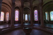 Apse of a church in Beaugency by safaribears