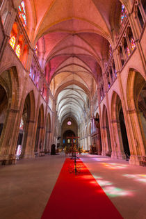 Nave of Nevers Cathedral von safaribears