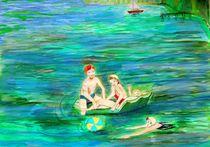 Badevergnügen von Heidi Schmitt-Lermann