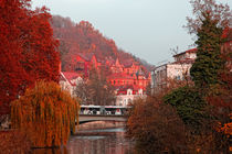 Herbstfarben in Tübingen by Klaus Dolle