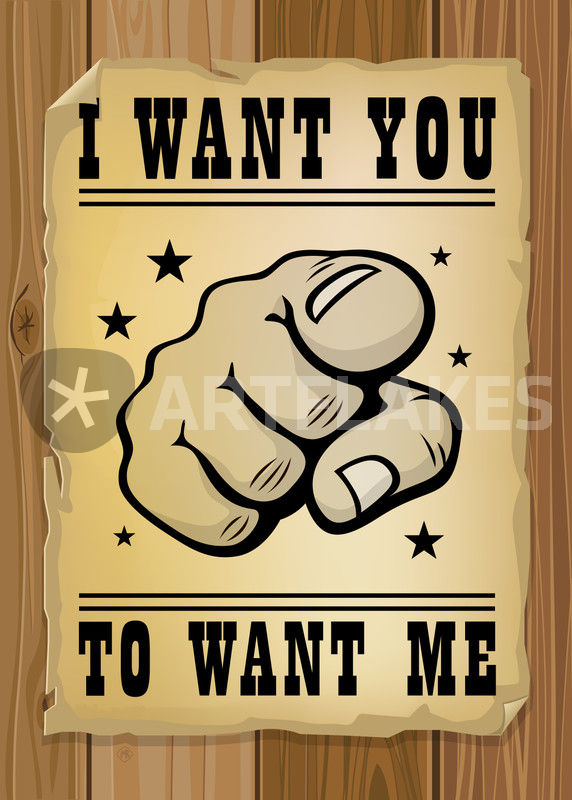 I Want You To Want Me Graphicillustration Art Prints And Posters