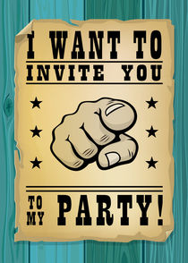 I want to invite you to my party von Maarten Rijnen