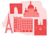 Paris Map by Alice Potter