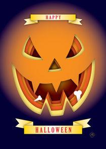 Happy Halloween Pumpkin von Maarten Rijnen