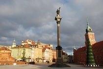 Castle Square in Warsaw by cryptoanarchist